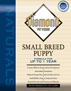 Сухой корм для собак Diamond Naturals Small Breed Puppy Formula
